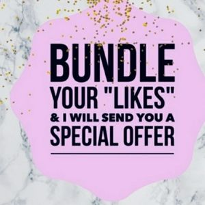 🌼BUNDLE YOUR LIKES OF 2 OR MORE ITEMS